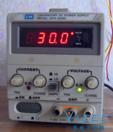 固纬GWinstek GPS 3030D直流稳压电源30V3A 单路 180元图片
