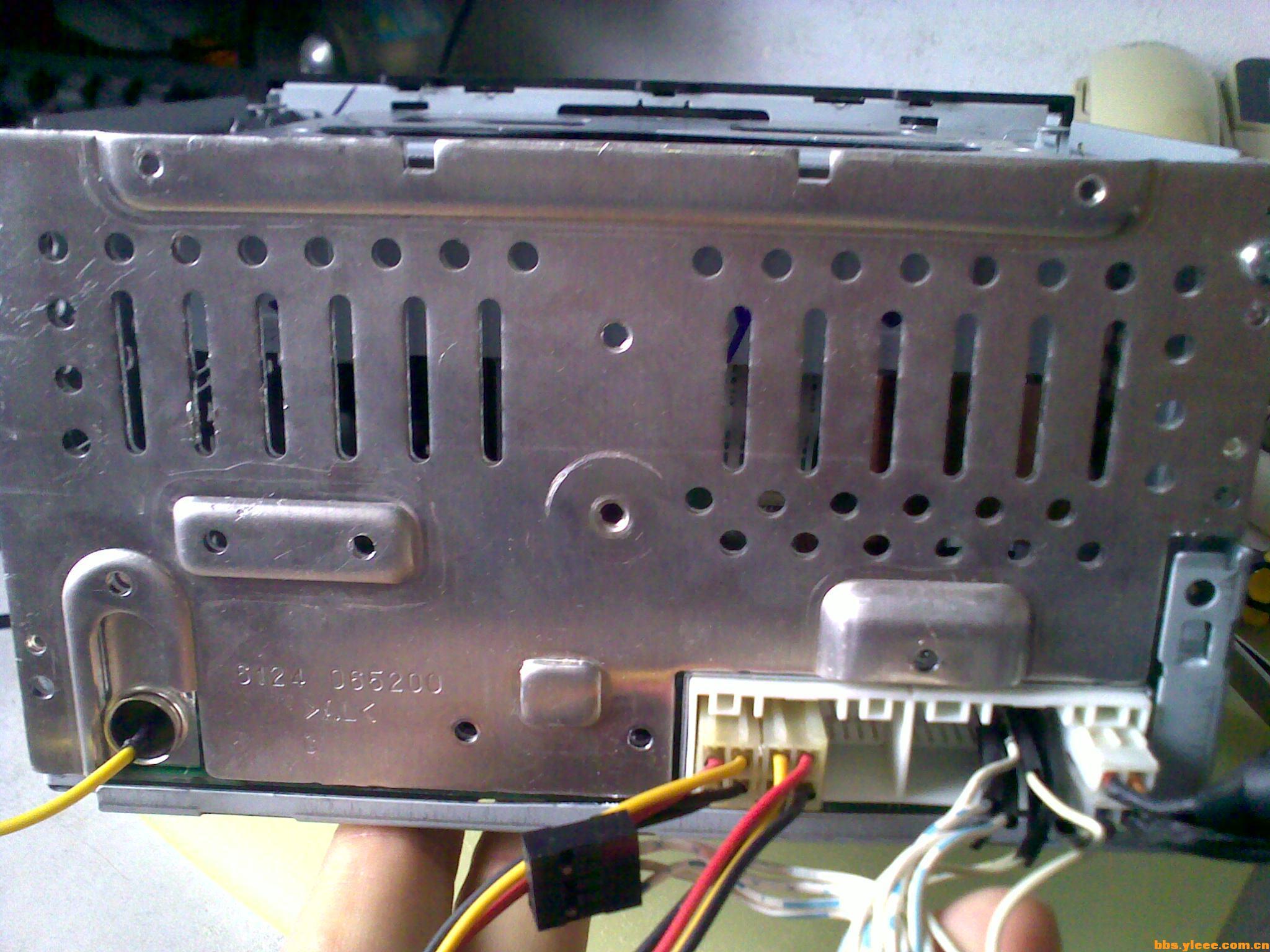 索纳塔8代cd机接线定义高清图片